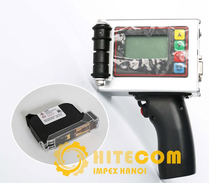 MÁY IN PHUN CÂM TAY - MÁY IN DATE CẦM TAY HP360A 12.7mm